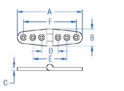 Take Apart Bolt Strap Hinge CAD