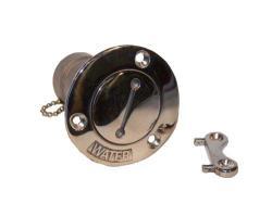 1½ Water Tank Fill Port w/Key