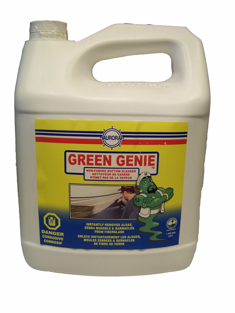 Aurora Green Genie Non Fuming Bottom Cleaner 1 Gallon
